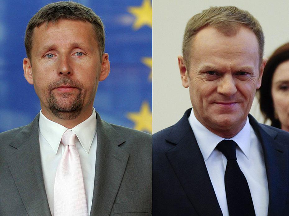 Marek Migalski, Donald Tusk