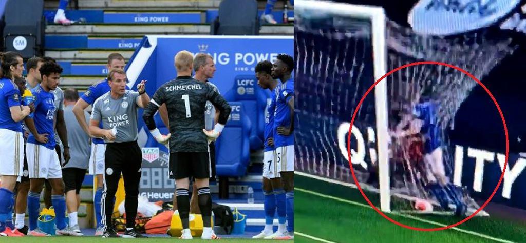 Caglar Soyuncu i jego kuriozalna czerwona kartka w meczu Bournemouth - Leicester