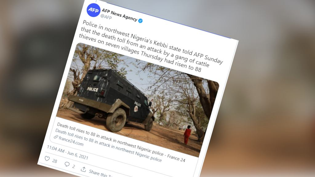 Nigeria. 88 osób zginęło w ataku złodziei bydła