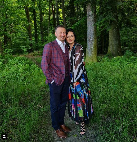 Izabela i Adam Małysz
