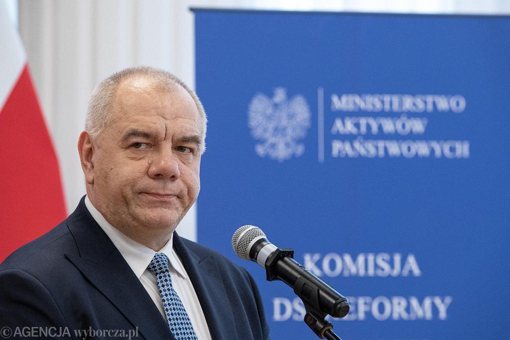 Jacek Sasin przyznał, że trzeba będzie zamykać kopalnie