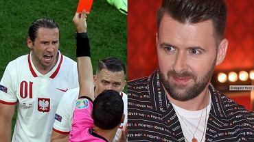 Grzegorz Hyży nagrał reakcję Krychowiaka po zejściu z boiska. Piłkarz opuszczał arenę zdruzgotany