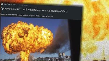 Rosja. Tak wybucha stacja LPG. 35 rannych po eksplozji w Nowosybirsku. Wśród nich gapie