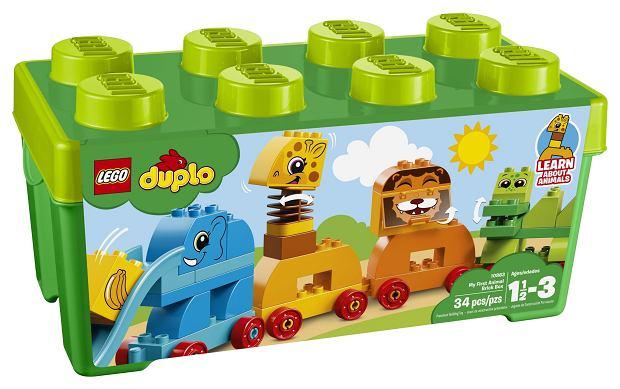 Budowanie i burzenie z Lego Duplo