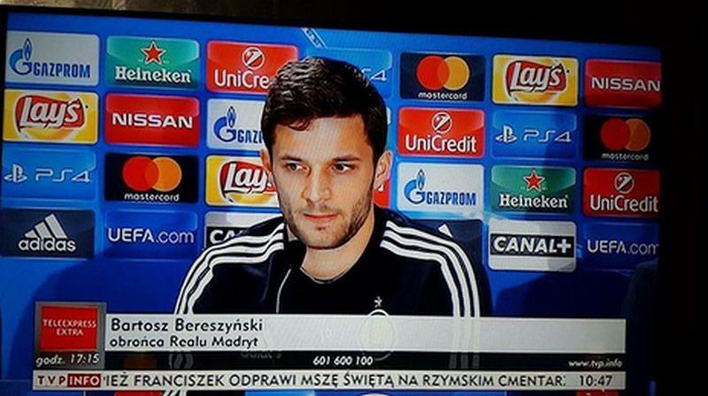 Bartosz Bereszyński piłkarzem... Realu Madryt