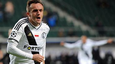 Legia - Real. Miroslav Radović strzelił drugiego gola Realowi