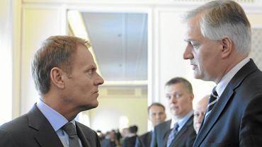 Donald Tusk i Jarosław Gowin jeszcze razem w rządzie