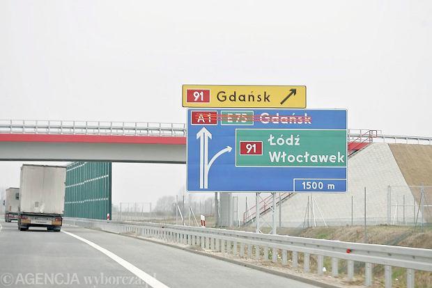 Autostrada A1. Można budować odcinek Stryków -Tuszyn
