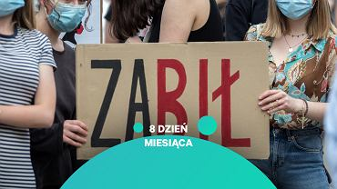 Protest przeciwko wypowiedzeniu konwencji stambulskiej