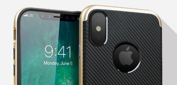 Etiu na niezaprezentowanego jeszcze iPhone'a 8 firmy Olixar
