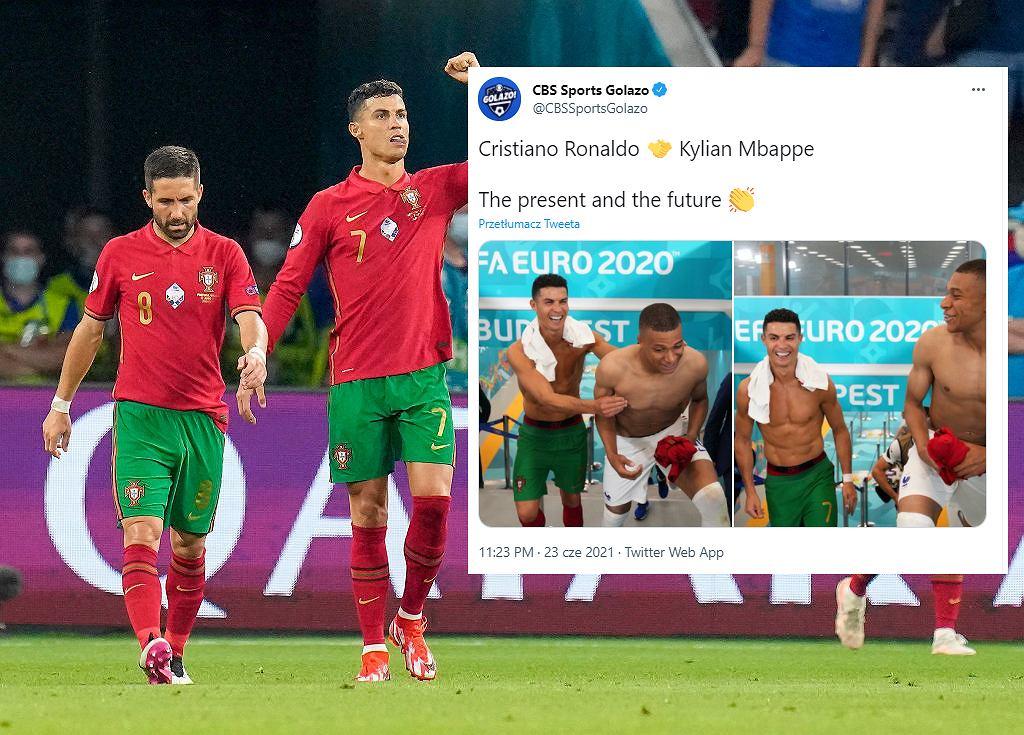 Cristiano Ronaldo i Mbappe