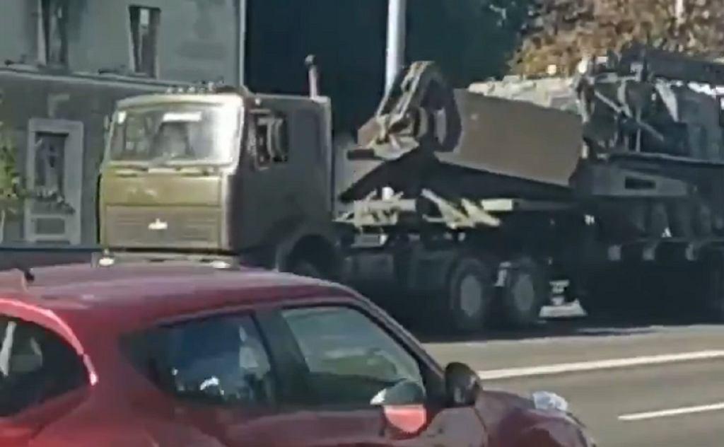 Wojskowy buldożer