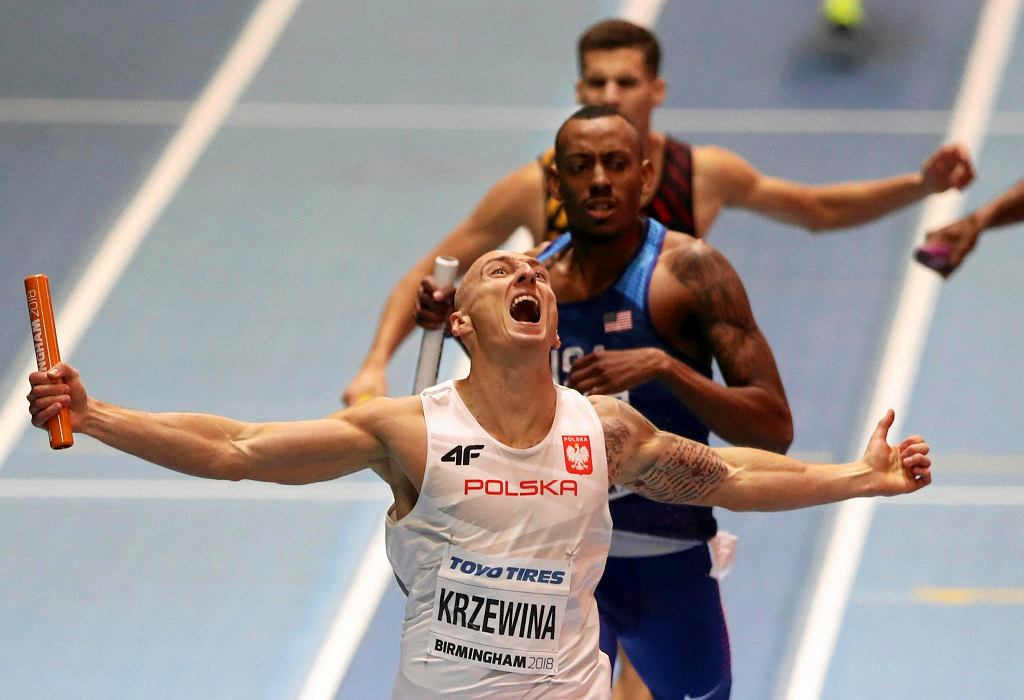 Jakub Krzewina na finiszu