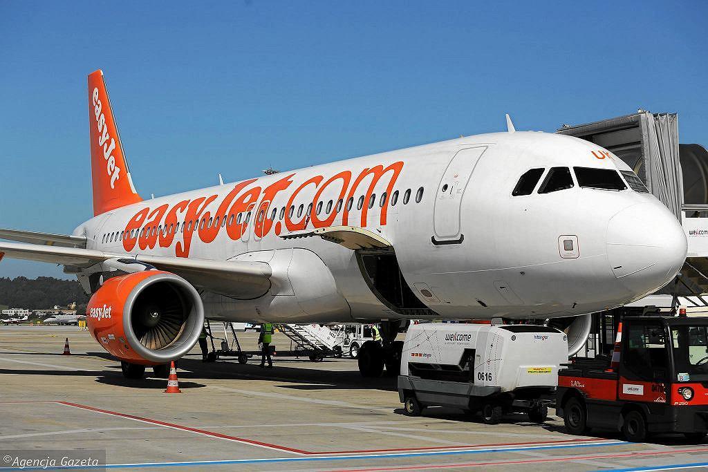 Jeden z samolotów linii EasyJet