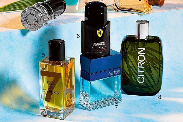 perfumy, Męskie perfumy drzewem i rumem pachnące