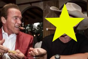 Patrick Schwarzenegger i Arnold Schwarzenegger