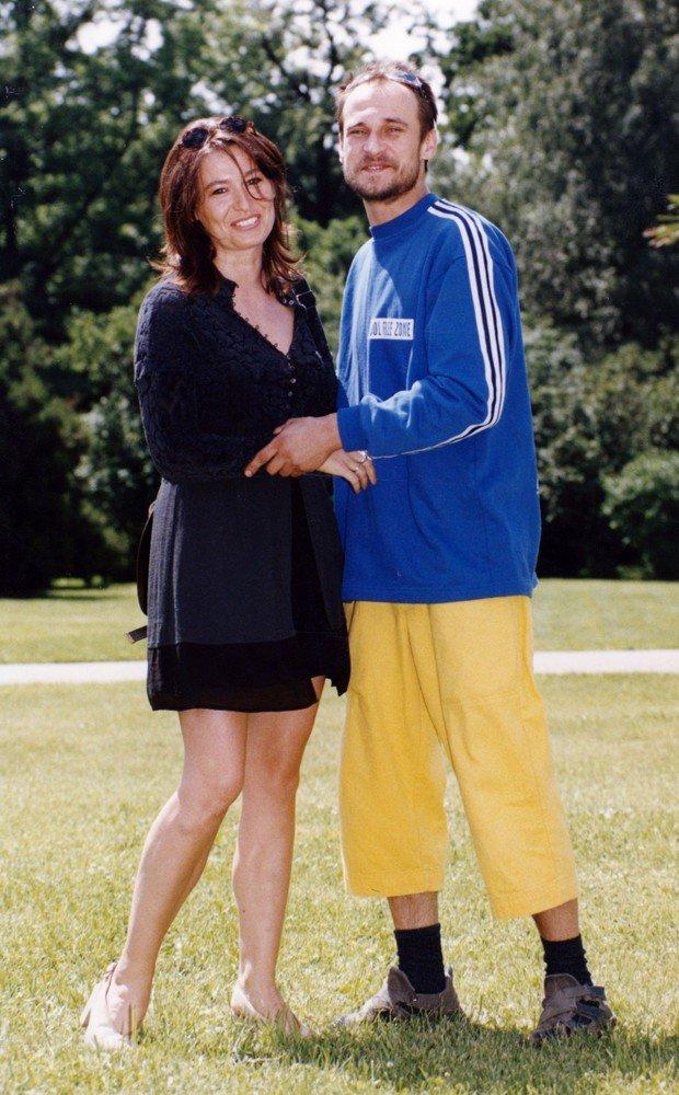 Paweł Kukiz z żoną