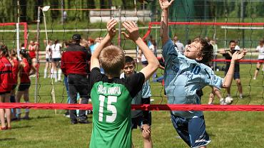 XX Festiwal siatkówki na stadionie Startu w Lublinie.