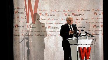 Jarosław Kaczyński na spotkaniu w kinie Wisła