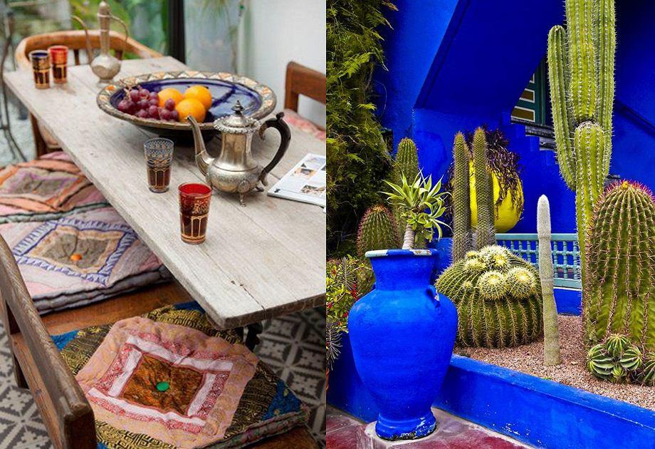 Donice i naczynia w stylu Maroko