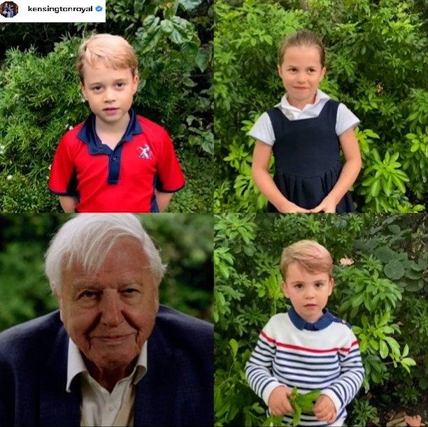 Dzieci księcia Williama i księżnej Kate rozmawiają z podróżnikiem