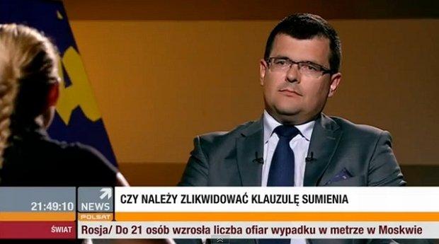 iotr Uściński, starosta powiatu wołomińskiego