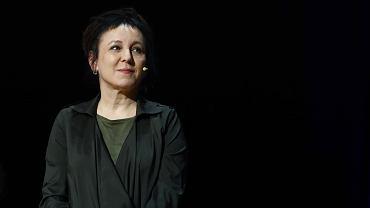 Olga Tokarczuk na Targach Książki w Krakowie, Centrum Kongresowe ICE 26.10.2019.