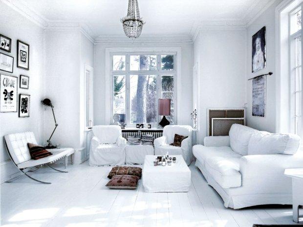 Wnętrza: dom na przedmieściach Kopenhagi