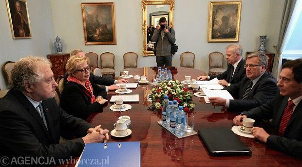 Prezesi sądow u prezydenta Komorowskiego
