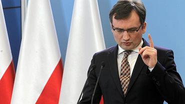 Minister sprawiedliwości PiS Zbigniew Ziobro