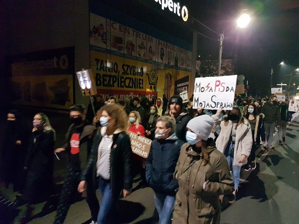 Strajk Kobiet w  Sokołowie Podlaskim