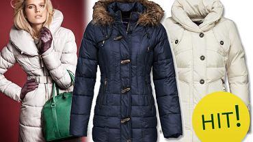 Ciepłe, puchowe kurtki i płaszcze