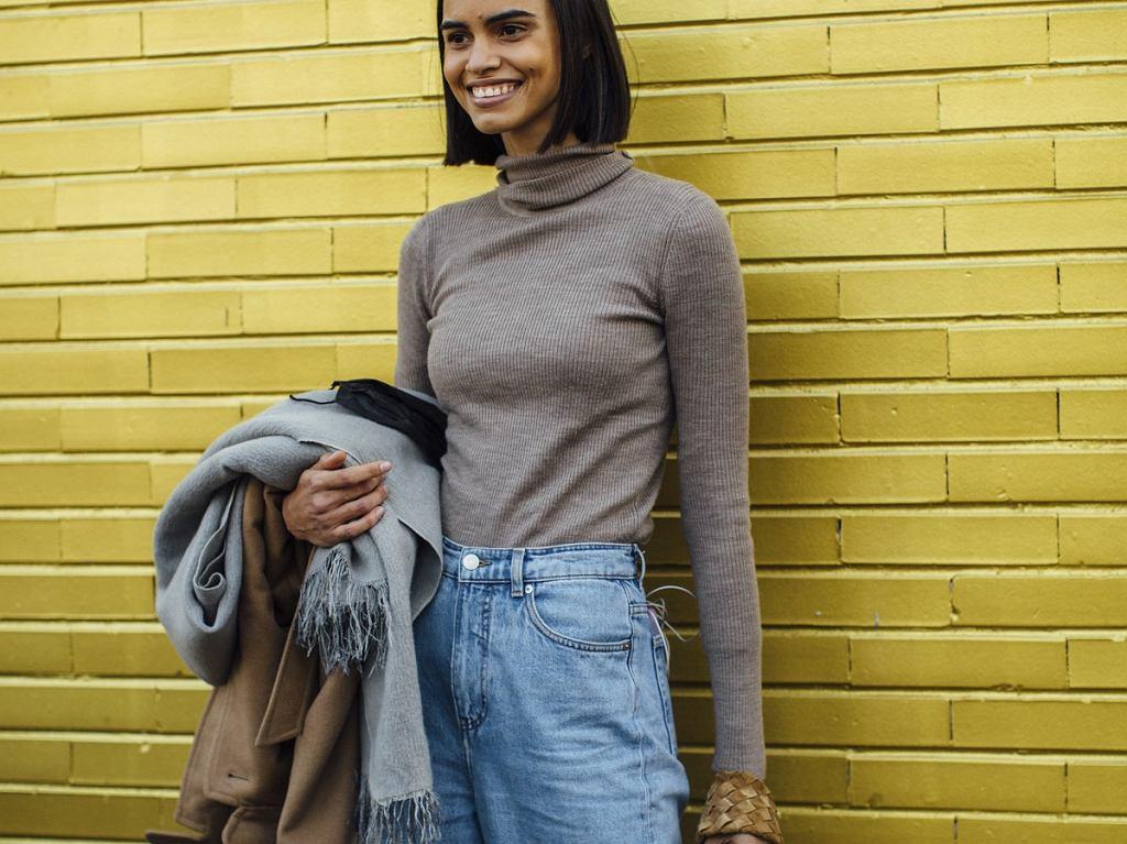 Modne mom jeans, fashion week