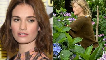 Lily James, Catherine Fitzgerald