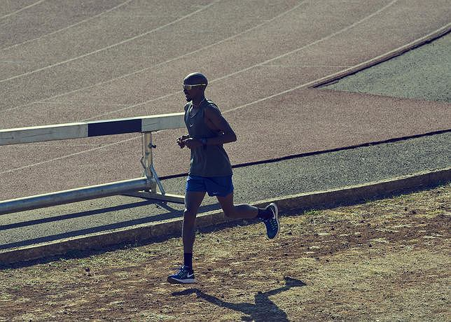 Mo Farah i Nike Air Zoom Pegasus