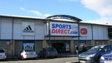 Sklep sieci Sports Direct