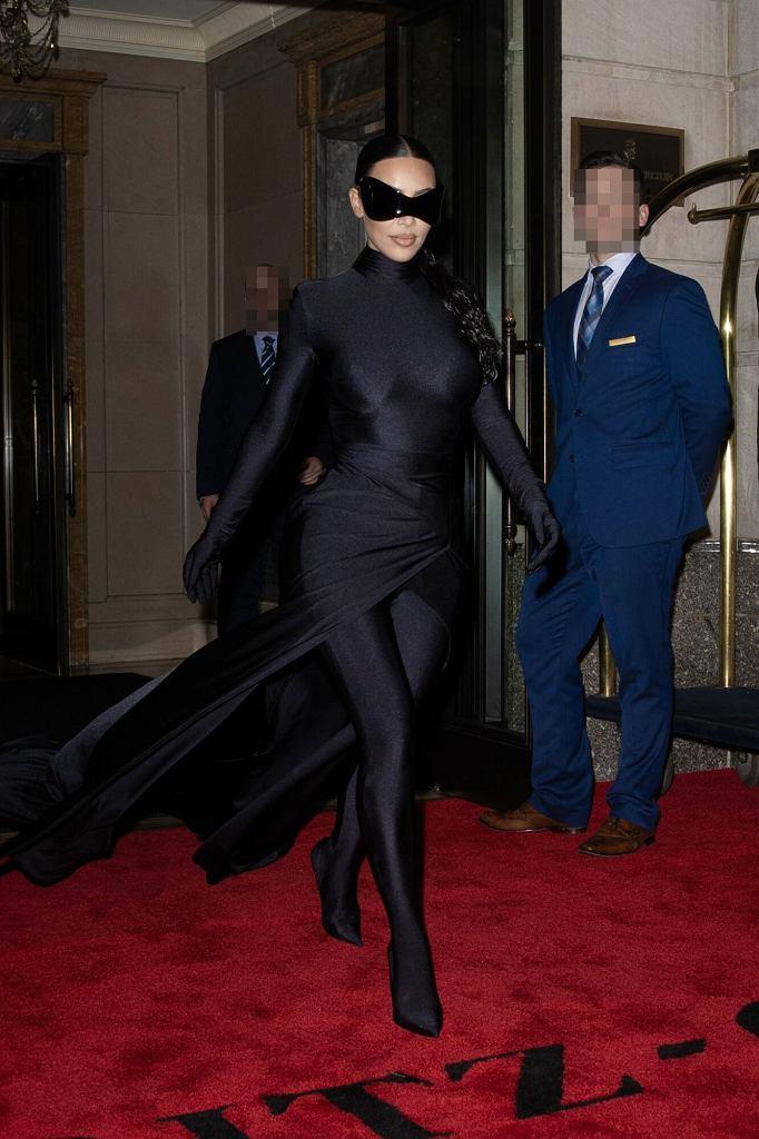 Kim Kardashian na afterparty Met Gali 2021
