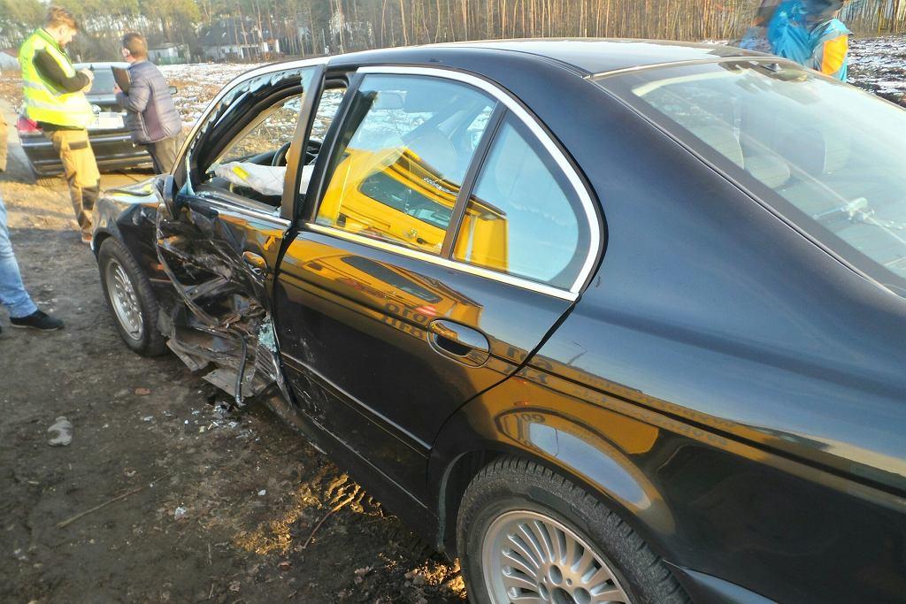 Wypadek limuzyn SOP pod Warszawą