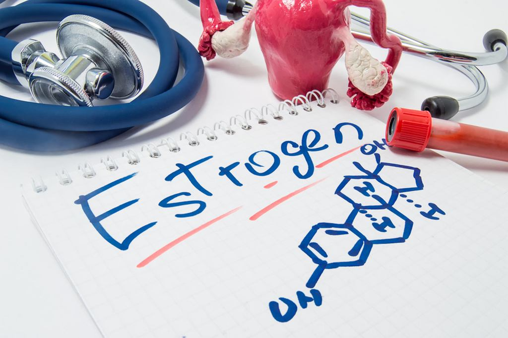 Estrogen to grupa hormonów płciowych, do których zaliczają się trzy główne postaci estrogenu, naturalnie występujące u kobiet