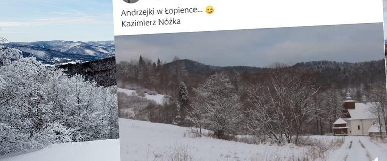 """Śnieg w górach. Internet zasypały zimowe zdjęcia. """"Nastrój niczym w Boże Narodzenie"""""""