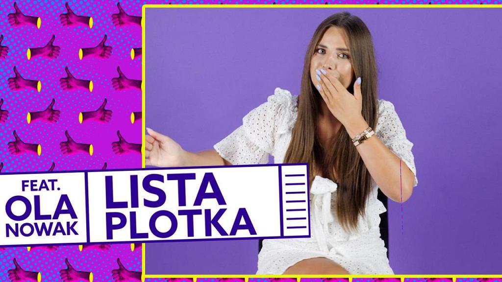 Ola Nowak w 'Liście Plotka'