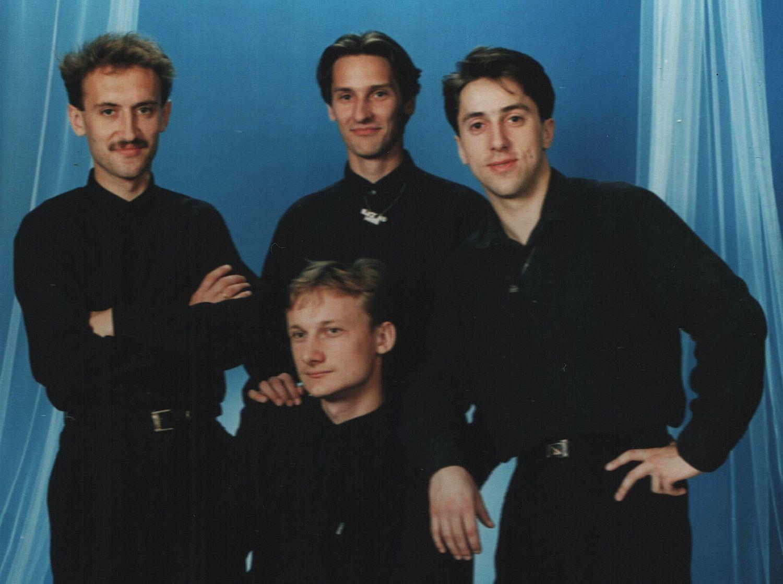 Zespół BOYS na początku swojej działalności (fot. discopolo.com.pl)