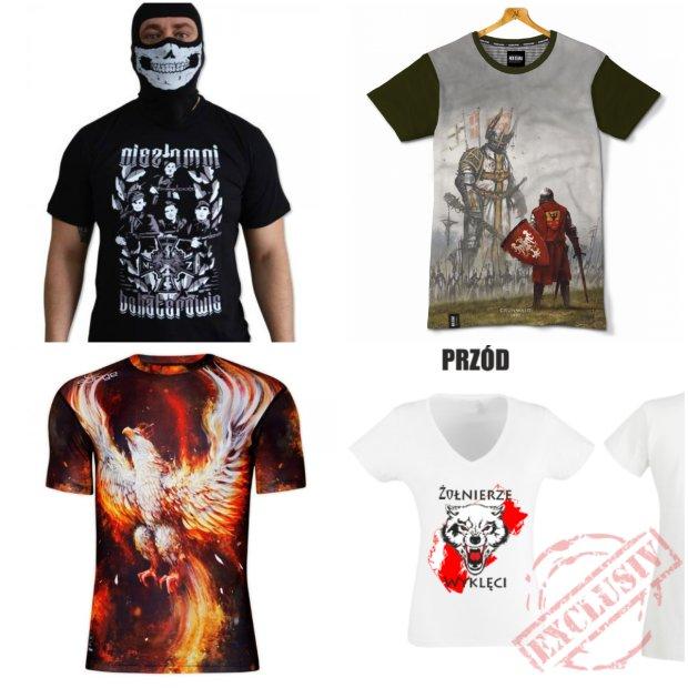 Przykłady odzieży patriotycznej