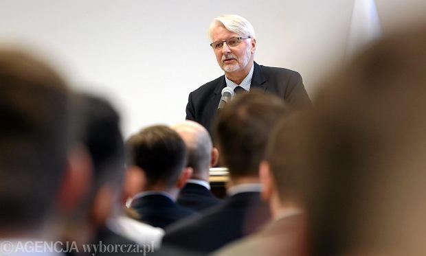 Paweł Zalewski przed wystąpieniem Waszczykowskiego: PiS wypisał nas ze wspólnoty