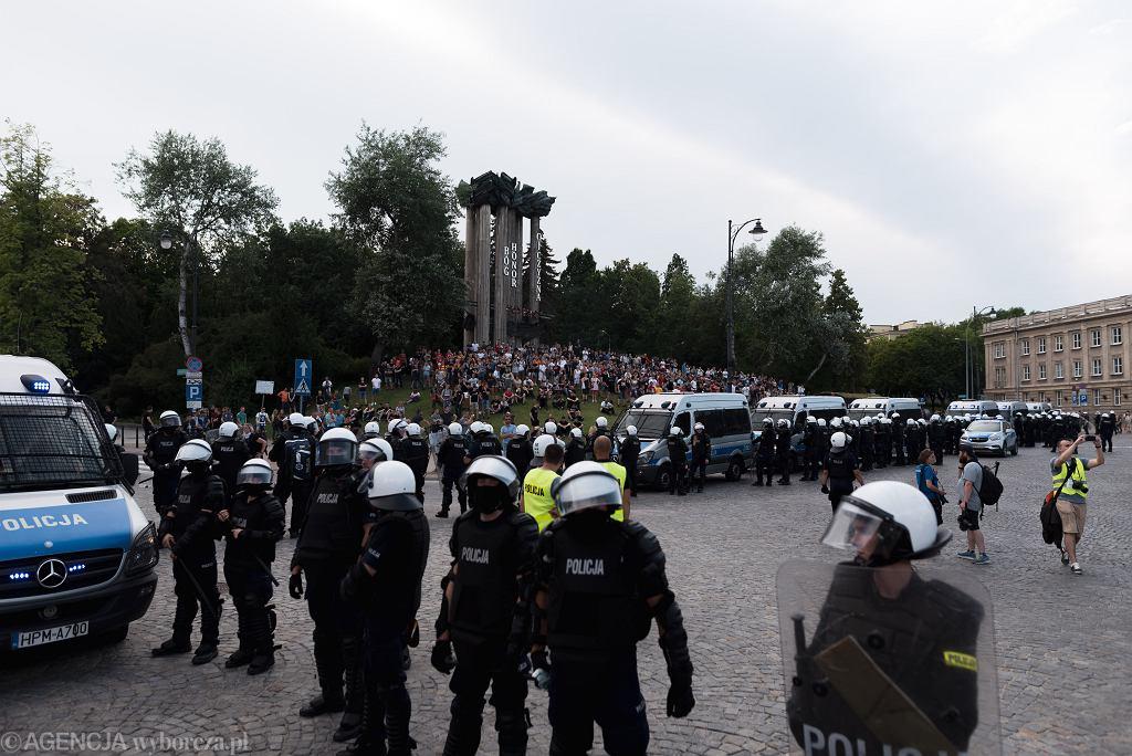 II Marsz Równości w Białymstoku. Organizatorzy: Nie boimy się
