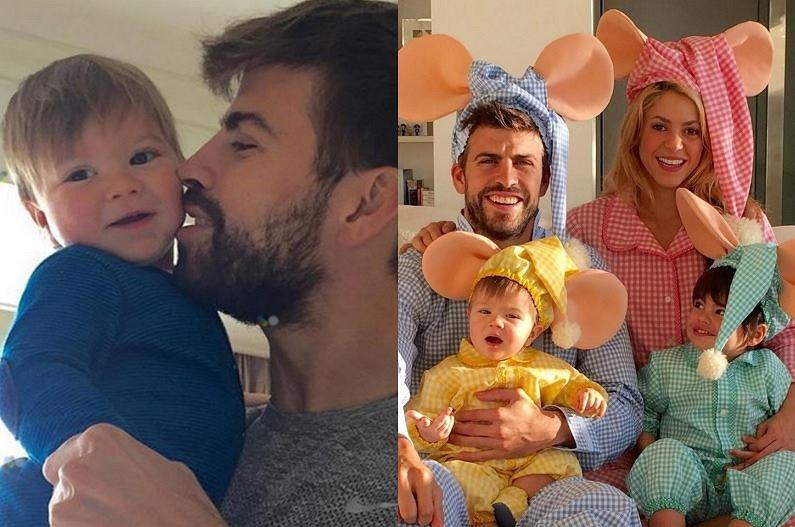 Shakira, Gerard Pique i dzieci