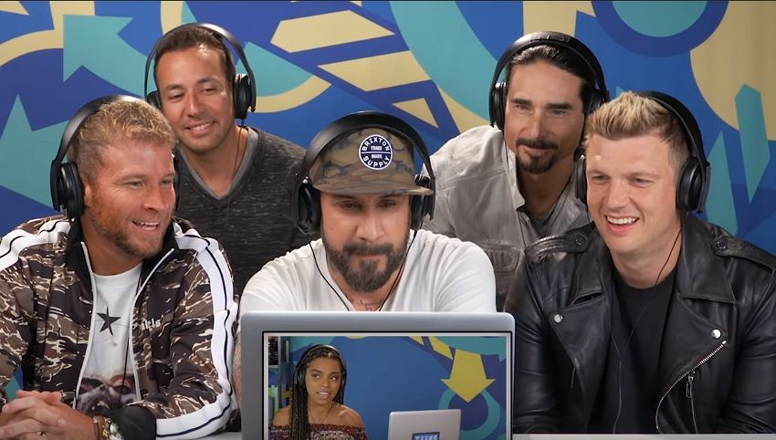 Backstreet Boys React to Teens React to Backstreet Boys