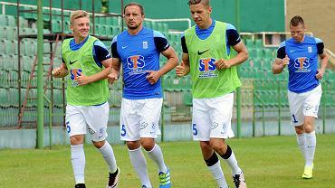 Lech Poznań - Zagłębie Lubin 3:0 w sparingu. Kamil Jóźwiak, Jan Bednarek i Dariusz Dudka