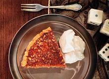 Glazurowana tarta pigwowo-orzechowa z kremem z mascarpone - ugotuj