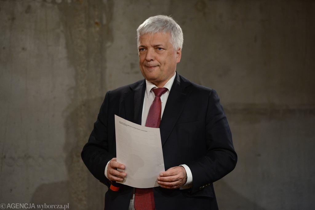 .Prezentacja listy Roberta Gwiazdowskiego do PE